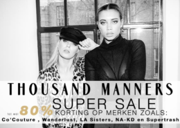 Thousand Manners SUPER SALE